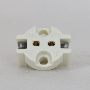 Clamp Lampholder for use with G4 - GZ4 - G5.3 - GX5.3 - GU5.3, G6.35 - GY6.35 - GZ6.35 Bulbs