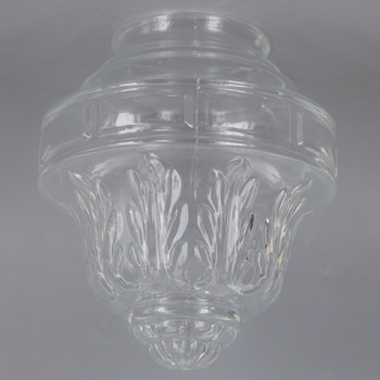 3-1/4in Fitter Clear Colonial Glass Shade