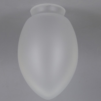 2-1/4in Fitter Glass Tear Drop Shade -  Frosted