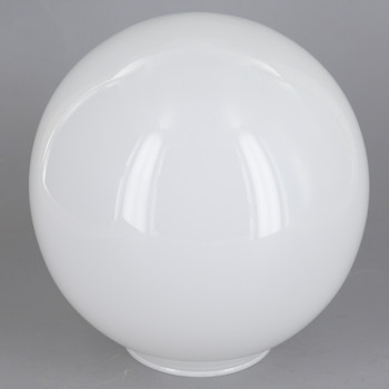 5in Diameter Opal Gloss Neckless Ball With 2in Hole