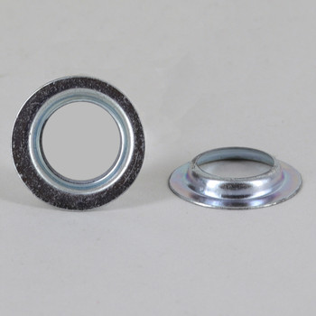 Chrome Plated Reducing Washer From 1/4ips To 1/8ips
