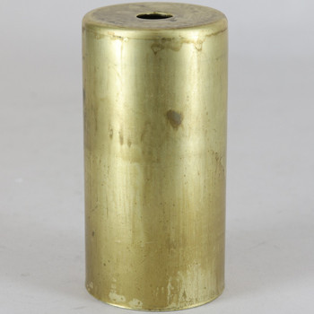 1-5/8in Diameter X 3-1/4in Height Unfinsihed Brass Cup