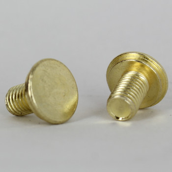 1/4-27 Thread Brass Plated Finish Shade Stud