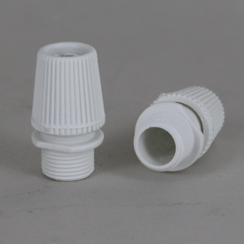 White 1/4ips - SJT Type Cable Compression Strain Relief