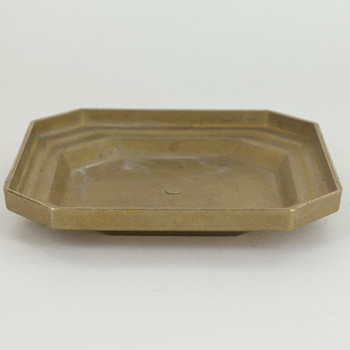 Cast Brass Backplate/ Canopy