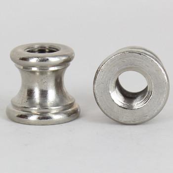 1/8ips. x 1/8ips Female Threaded Nickel Plated Finish Turned Neck