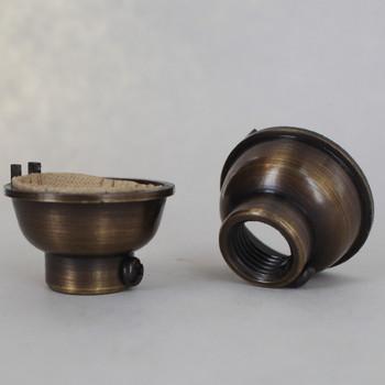 Antique Brass Finish 1/4ips. Female Cap