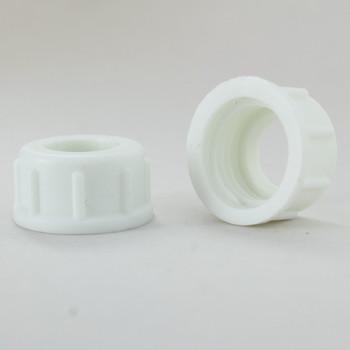 1/4ips. Female Threaded Plastic Insulating Bushing - White