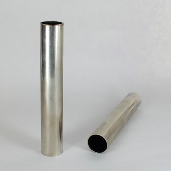 1/2in Diameter X 0.020 Wall Thickness Unfinished Nickel Silver Tubing.