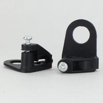 1/8ips.Slip Plastic Wire Clamp Strain Relief - Black