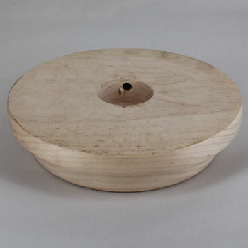 7in. Raw Wood Base