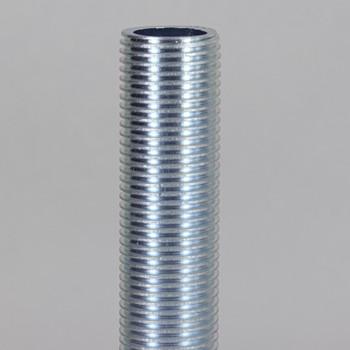 10in Long X 1/2ips / NPS Zinc Plated Steel Fully Threaded Nipple