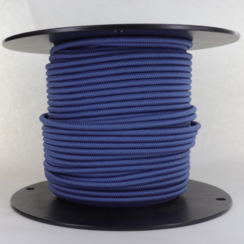 18/2 SVT-B Blue/steel Swirl Pattern Nylon Fabric Cloth Covered Pendant And Table Lamp Wire
