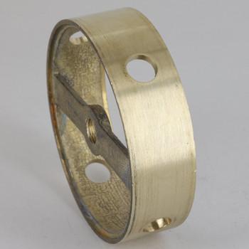4 Side Holes - Cast Brass Ring Body - 3-1/4in (82mm) Diameter