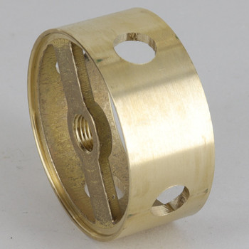 2in (50mm) Diameter with 4 Side Holes Cast Brass Body Ring