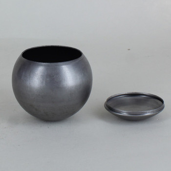 2-1/2in Diameter Unfinished Steel Eyeball Body Ball with Cover