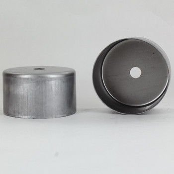 2-1/2in Diameter X 1-1/2in Height Blank Side Hole Unfinished Steel Body with 1/8ips Slip Hole