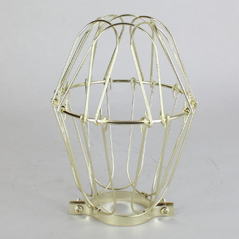 Brass Plated Bulb Cage