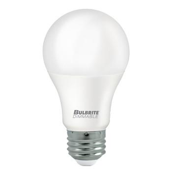 9W LED A19 DIMMABLE ENCLOSED JA8 2700K E26 120V BULB