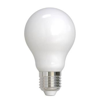 8.5W LED E26 Base A19 2700K Filament Milky Bulb
