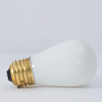 11W White Indicator E-26 Base S14 Style Bulb
