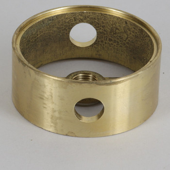 2in (50mm) Diameter with 2 Side Holes Cast Brass Body Ring