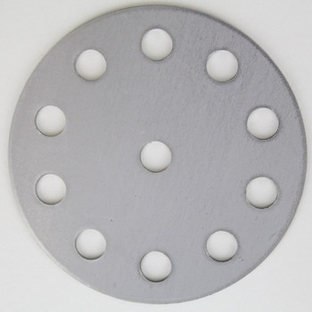10-Arm - 4in Diameter Distributor Plate Washer with 1/8ips Slip (7/16in) Center Hole