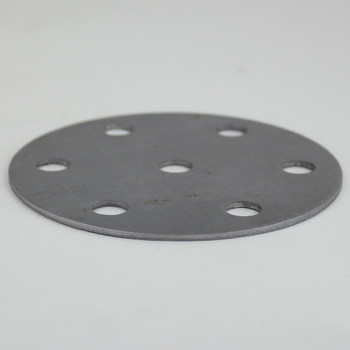 6-Arm - 4in Diameter Distributor Plate Washer with 1/8ips Slip (7/16in) Center Hole