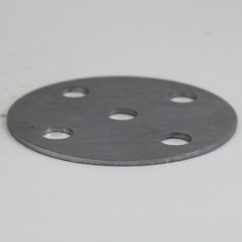 4-Arm - 3in Diameter Distributor Plate Washer with 1/8ips Slip (7/16in) Center Hole