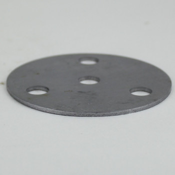 3-Arm - 3in Diameter Distributor Plate Washer with 1/8ips Slip (7/16in) Center Hole