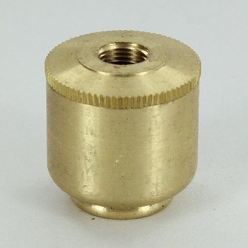 No Side Hole - 1/8ips Bottom - Small Cluster Body - Unfinished Brass