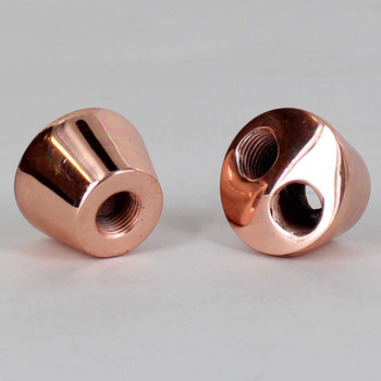 2 Hole 1/8ips Y-Type Cluster Body -Polished Copper