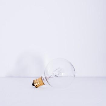 15W Clear E-12 Base 1-1/2in. Globe Bulb