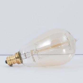 25W E-12 Base Mini Squirrel Cage Filament Antique Style Bulb