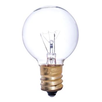 25W Clear E-12 Base 1-1/2in. Globe Bulb