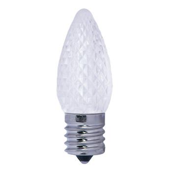C9 LED 0.6W CLEAR E17 120V bright LED bulb