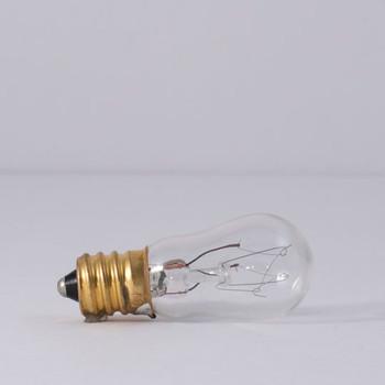 6W -120V Clear E-12 Base Indicator Bulb