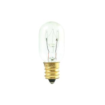 15W Clear E-12 Base T7 Tubular Bulb