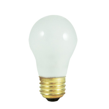 15W Frosted E-26 Base A-15 Appliance Bulb