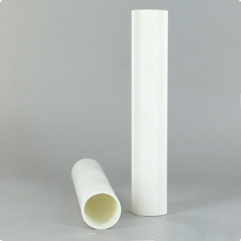 7/8in.O.D. x 36 in. Long Hard Plastic Candle Tubing - White