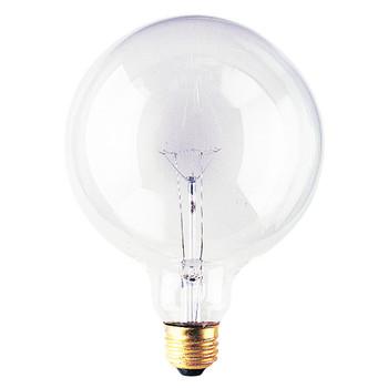 100W Clear E-26 Base G40 5in. Globe Bulb