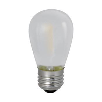 0.7W LED E26 Base S14 2700K Filament Frosted