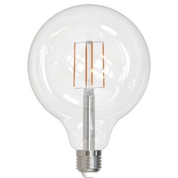 8.5W LED E26 Base G40 2700K Filament Fully Compatible Dimming Bulb - Clear