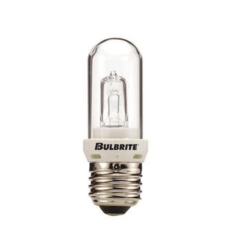 100W Clear Halogen E-26 Base T10 Tubular Bulb