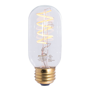 4W= 40W T-14 Style  Spiral Curved Filament Led Bulb