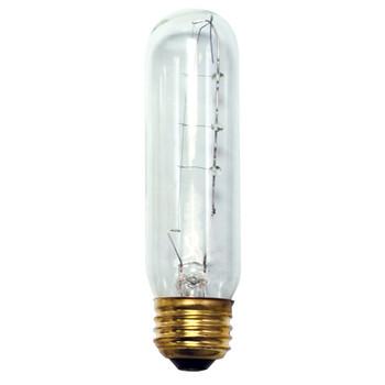 25W Clear High Output  E-26 Base T10 Tubular Bulb