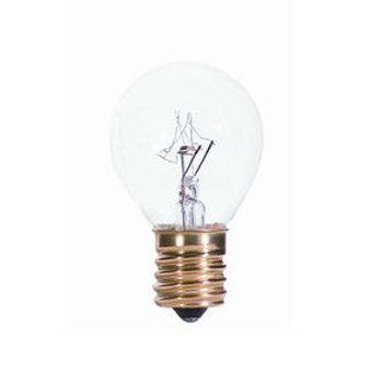 40W High Intensity Clear E-17 Base S11 Style Bulb