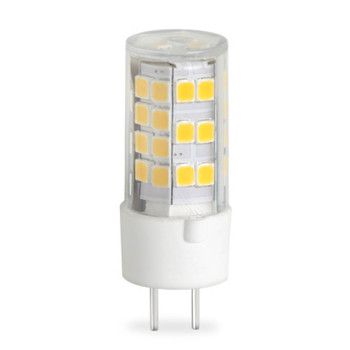 4W T4 12V 2-Pin GY6.35 Base Clear Finish 3000K Specialty LED
