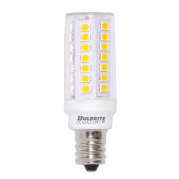 5W LED Mini T6 E12 Candelabra Screw Base Light Bulb 2700K - Clear
