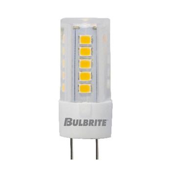 4.5W T4 12V 2-Pin G4 Sub-Miniature Base Clear Finish 2700K Specialty LED Miniature Light Bulb